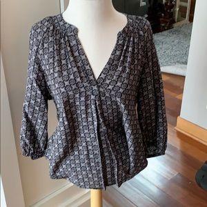 Women's Joie patterned blouse